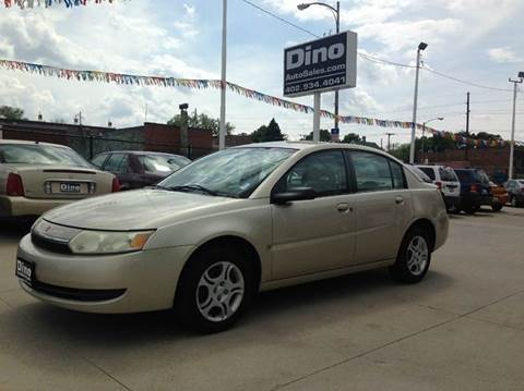 2004 Saturn Ion for sale at Dino Auto Sales in Omaha NE