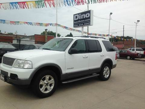 2004 Ford Explorer for sale at Dino Auto Sales in Omaha NE