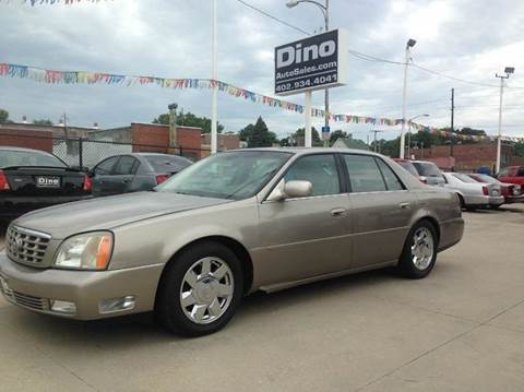 2000 Cadillac DeVille for sale at Dino Auto Sales in Omaha NE