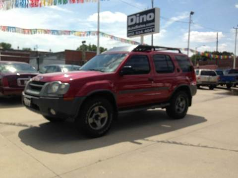 2002 Nissan Xterra for sale at Dino Auto Sales in Omaha NE