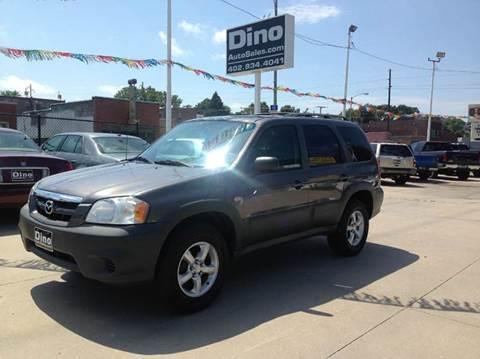 2005 Mazda Tribute for sale at Dino Auto Sales in Omaha NE