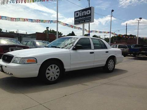 2011 Ford Crown Victoria for sale at Dino Auto Sales in Omaha NE