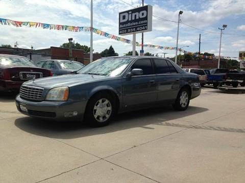 2004 Cadillac DeVille for sale at Dino Auto Sales in Omaha NE