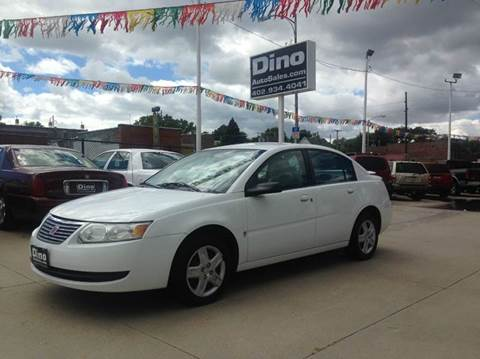 2006 Saturn Ion for sale at Dino Auto Sales in Omaha NE