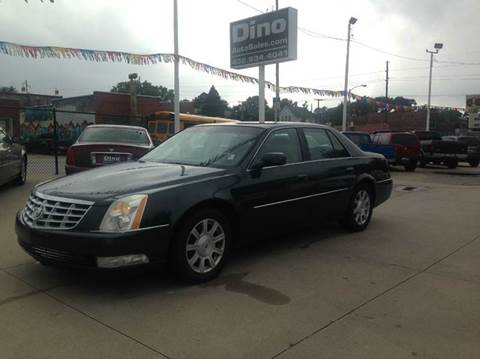 2008 Cadillac DTS for sale at Dino Auto Sales in Omaha NE