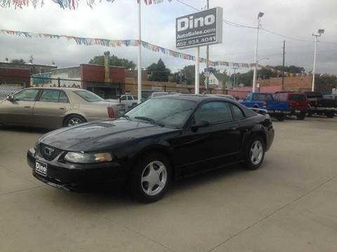2002 Ford Mustang for sale at Dino Auto Sales in Omaha NE