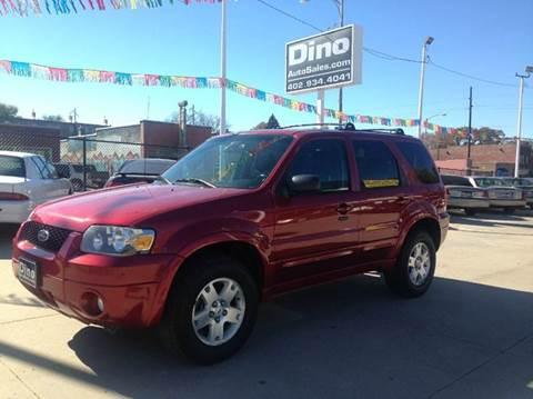 2007 Ford Escape for sale at Dino Auto Sales in Omaha NE