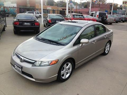 2006 Honda Civic for sale at Dino Auto Sales in Omaha NE