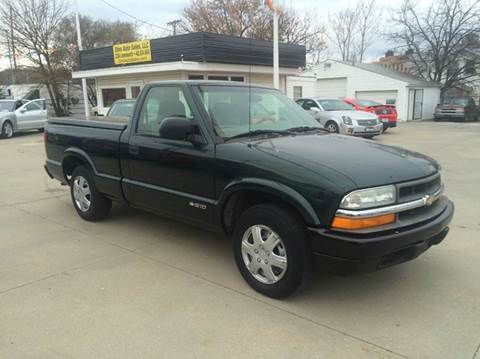 2002 Chevrolet S-10 for sale at Dino Auto Sales in Omaha NE