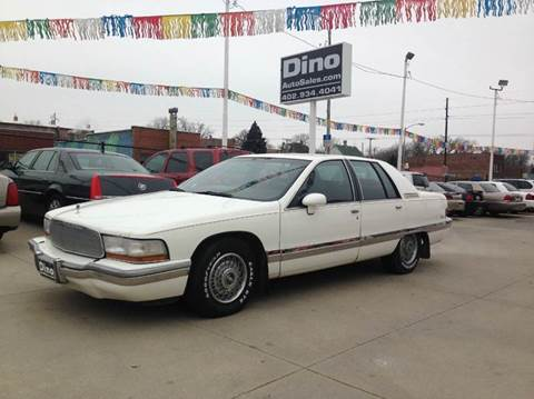 1992 Buick Roadmaster for sale at Dino Auto Sales in Omaha NE