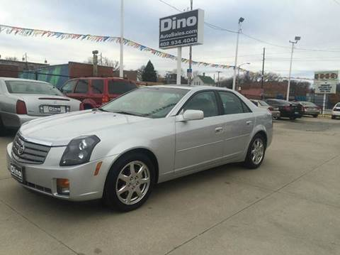 2003 Cadillac CTS for sale at Dino Auto Sales in Omaha NE
