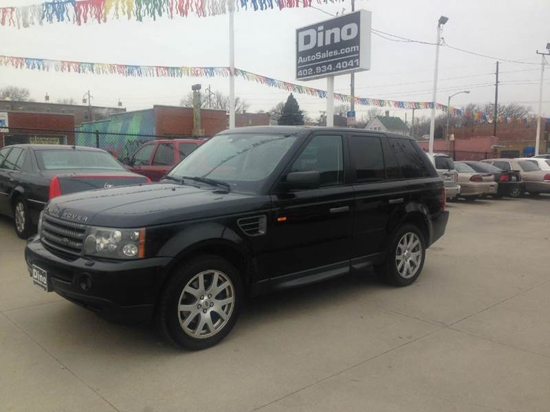 2008 Land Rover Range Rover Sport for sale at Dino Auto Sales in Omaha NE