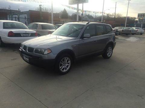 2004 BMW X3 for sale at Dino Auto Sales in Omaha NE