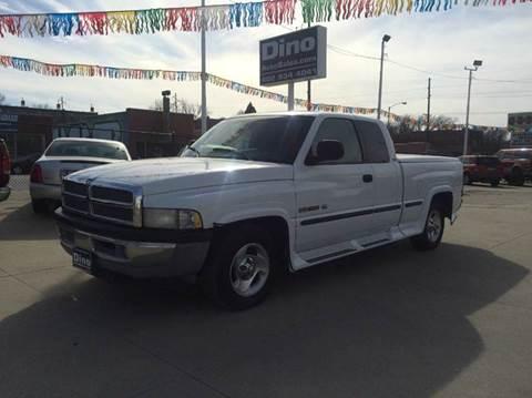 1999 Dodge Ram Pickup 1500 for sale at Dino Auto Sales in Omaha NE