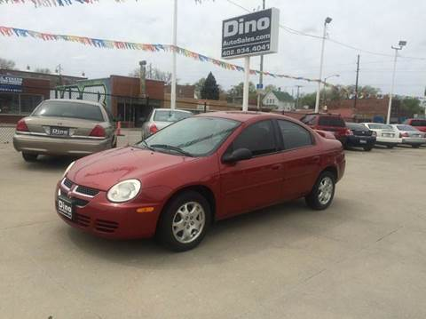 2004 Dodge Neon for sale at Dino Auto Sales in Omaha NE