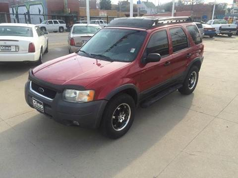 2003 Ford Escape for sale at Dino Auto Sales in Omaha NE