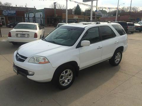 2002 Acura MDX for sale at Dino Auto Sales in Omaha NE