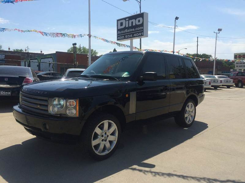 2004 Land Rover Range Rover for sale at Dino Auto Sales in Omaha NE