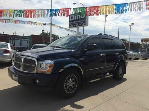 2005 Dodge Durango for sale at Dino Auto Sales in Omaha NE