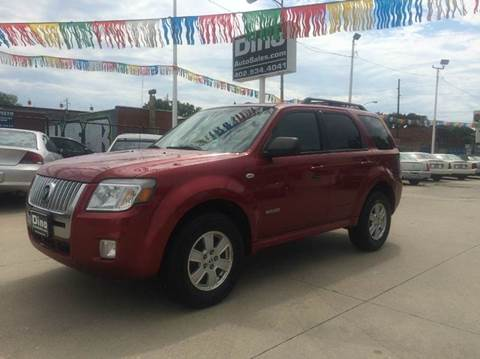 2008 Mercury Mariner for sale at Dino Auto Sales in Omaha NE