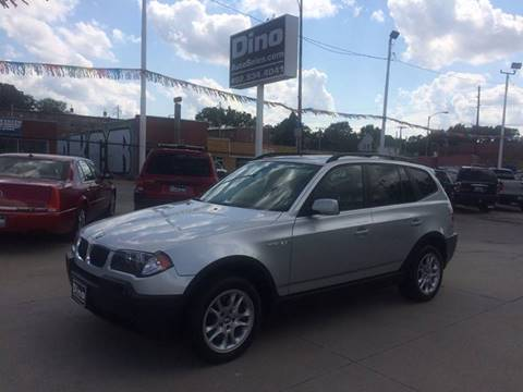 2005 BMW X3 for sale at Dino Auto Sales in Omaha NE
