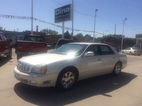 2002 Cadillac DeVille for sale at Dino Auto Sales in Omaha NE
