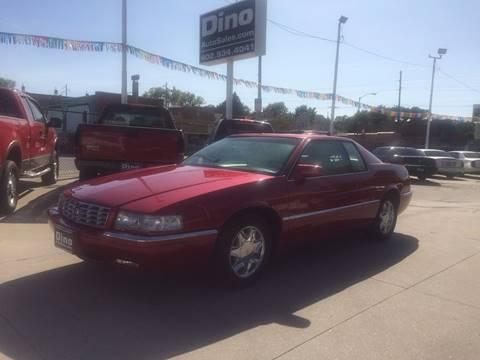 2000 Cadillac Eldorado for sale at Dino Auto Sales in Omaha NE