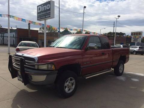1997 Dodge Ram Pickup 1500 for sale at Dino Auto Sales in Omaha NE