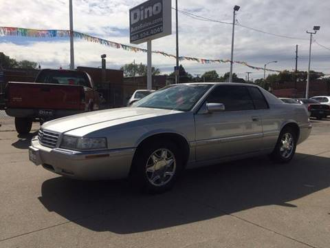 1999 Cadillac Eldorado for sale at Dino Auto Sales in Omaha NE