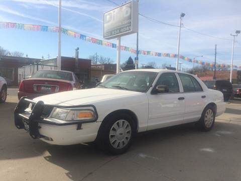2010 Ford Crown Victoria for sale at Dino Auto Sales in Omaha NE