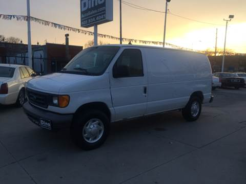 2007 Ford E-Series Cargo for sale at Dino Auto Sales in Omaha NE