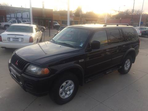 2002 Mitsubishi Montero Sport for sale at Dino Auto Sales in Omaha NE