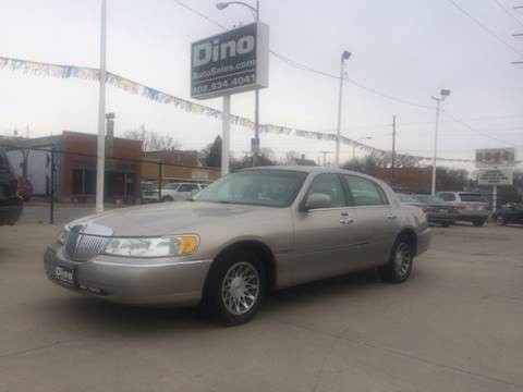2002 Lincoln Town Car for sale at Dino Auto Sales in Omaha NE