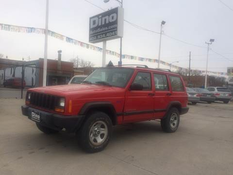 1997 Jeep Cherokee for sale at Dino Auto Sales in Omaha NE