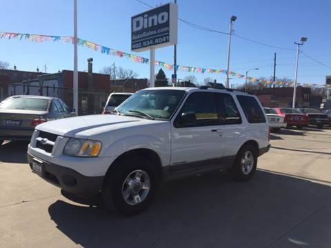 2001 Ford Explorer Sport for sale at Dino Auto Sales in Omaha NE