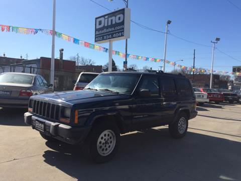 2001 Jeep Cherokee for sale at Dino Auto Sales in Omaha NE