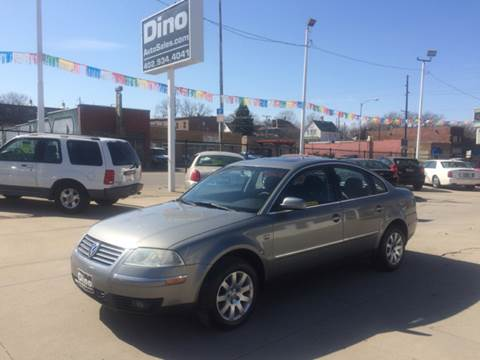 2001 Volkswagen Passat for sale at Dino Auto Sales in Omaha NE
