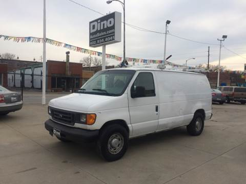 2004 Ford E-Series Cargo for sale at Dino Auto Sales in Omaha NE