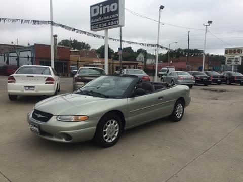 2000 Chrysler Sebring for sale at Dino Auto Sales in Omaha NE