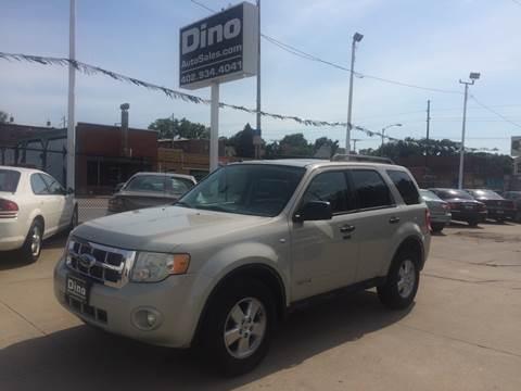 2008 Ford Escape for sale at Dino Auto Sales in Omaha NE