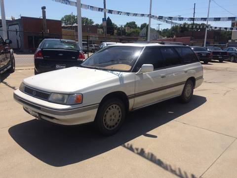 1990 Subaru Legacy for sale at Dino Auto Sales in Omaha NE