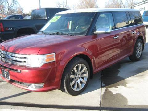 2009 Ford Flex for sale at The Auto Specialist Inc. in Des Moines IA