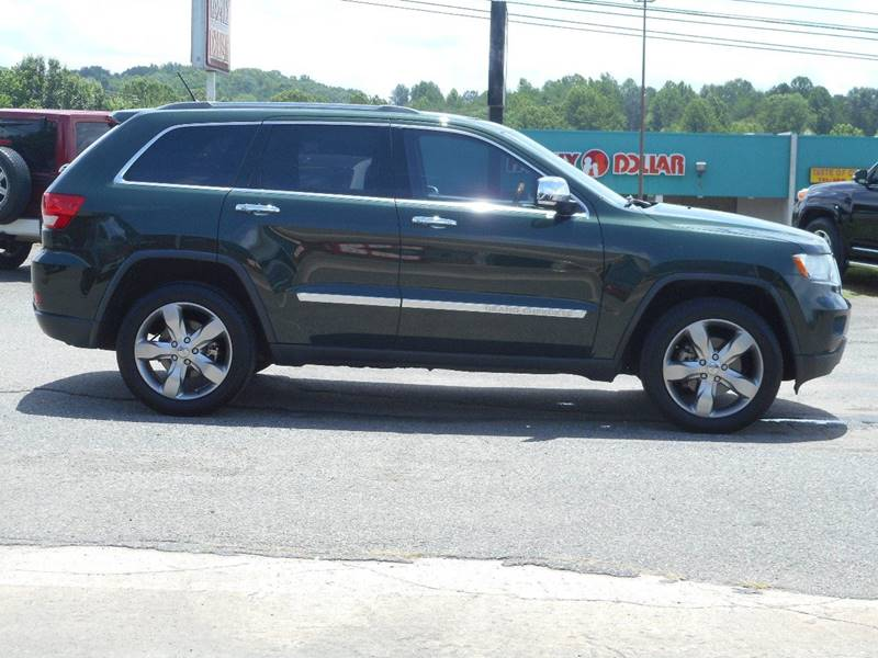 2011 jeep grand cherokee 4x4 overland 4dr suv in pilot mountain nc. Cars Review. Best American Auto & Cars Review