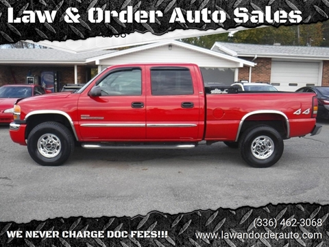2005 GMC Sierra 2500HD for sale in Pilot Mountain, NC