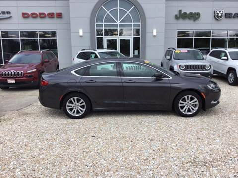 2016 Chrysler 200 for sale in Hardin, IL