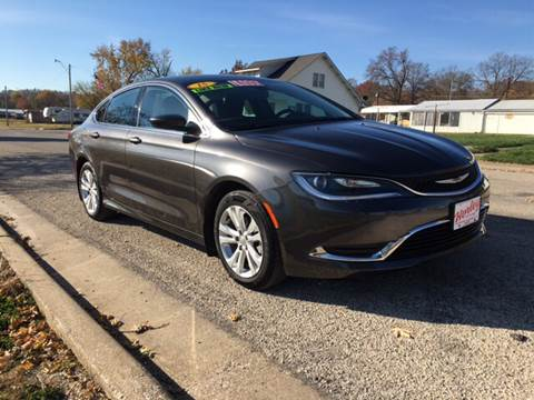 2015 Chrysler 200 for sale in Hardin, IL