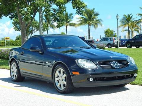 1998 Mercedes-Benz SLK-Class for sale at VE Auto Gallery LLC in Lake Park FL