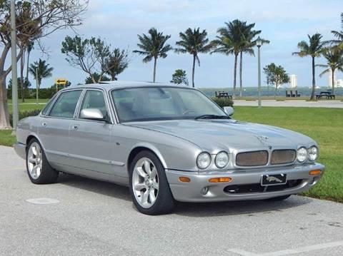 2003 Jaguar XJR for sale at VE Auto Gallery LLC in Lake Park FL
