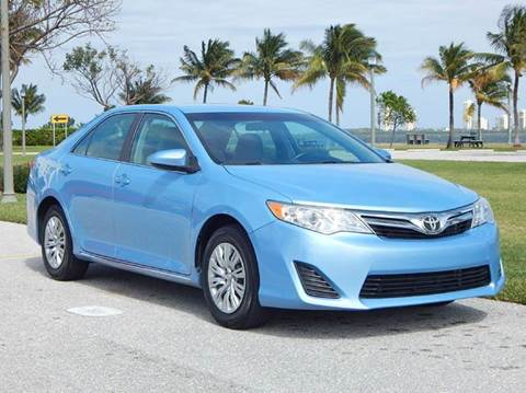 2012 Toyota Camry for sale at VE Auto Gallery LLC in Lake Park FL