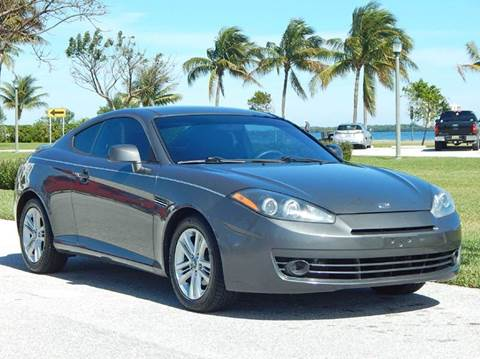 2007 Hyundai Tiburon for sale at VE Auto Gallery LLC in Lake Park FL